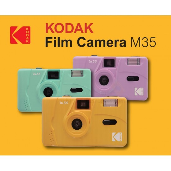 Kodak M35 Film Camera - Purple