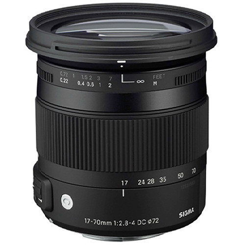 Sigma 17-70mm F2.8-4 DC Macro OS HSM Contemporary Lens (Sony)