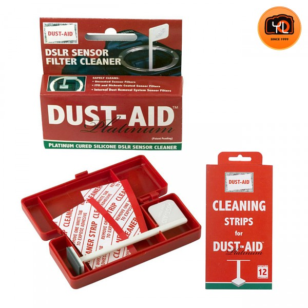 Dusti-Aid Platinum Wand W/ Cleaning Strips