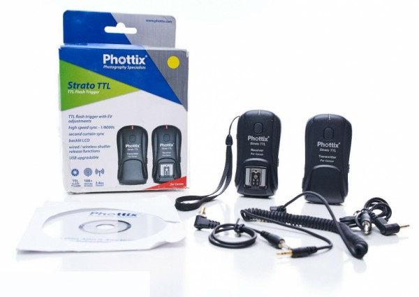 (Special Deal) Phottix Strato TTL Trigger Set for Canon C6