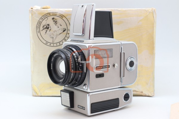 [USED-PUDU] HASSELBLAD 500EL/M 20 YEARS IN SPACE NO.1218 W/ PLANAR 80MM F2.8 T* SET 95%LIKE NEW CONDITION