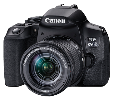 Canon EOS 850D W/ EF-S 18-55mm IS STM