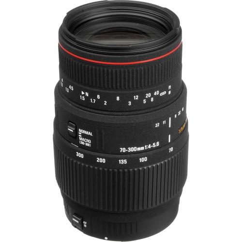 Sigma APO 70-300mm F4-5.6 DG Macro Lens (NIKON)