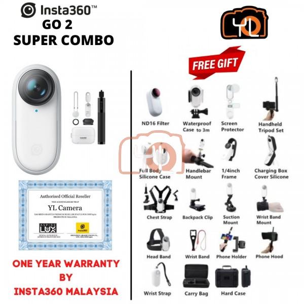 Insta360 GO2 Action Camera ( Super Combo )