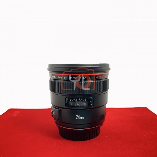 [USED-PJ33] Canon 24mm F1.4 L USM EF, 90% Like New Condition (S/N:41333)