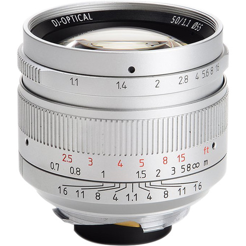 7artisans M 50mm F1.1 For Leica M (Silver)