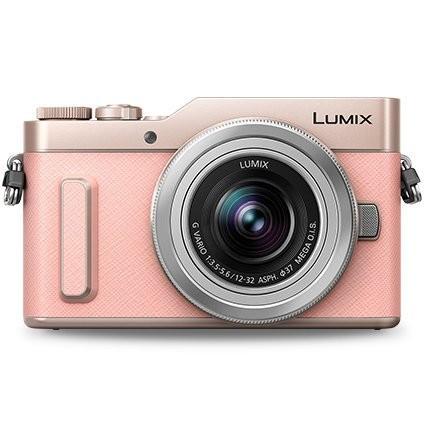Panasonic Lumix DC-GF10 W/12-32mm (Pink) (FREE Extra Battery Redeem Online)
