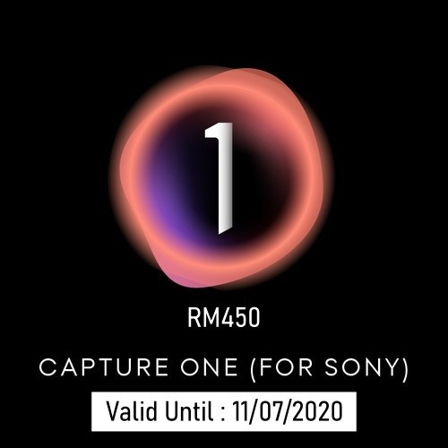 (Promotion) Capture One 20 Pro - For Sony Cameras (Max. 2 Activates)