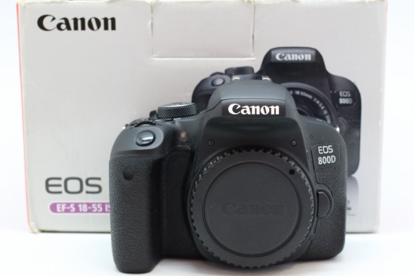 [USED-PUDU] CANON EOS 800D CAMERA BODY 98%LIKE NEW CONDITION SN:175071002214