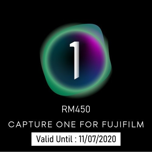 (Promotion) Capture One 20 Pro - For Fujifilm Cameras (Max. 2 Activates)