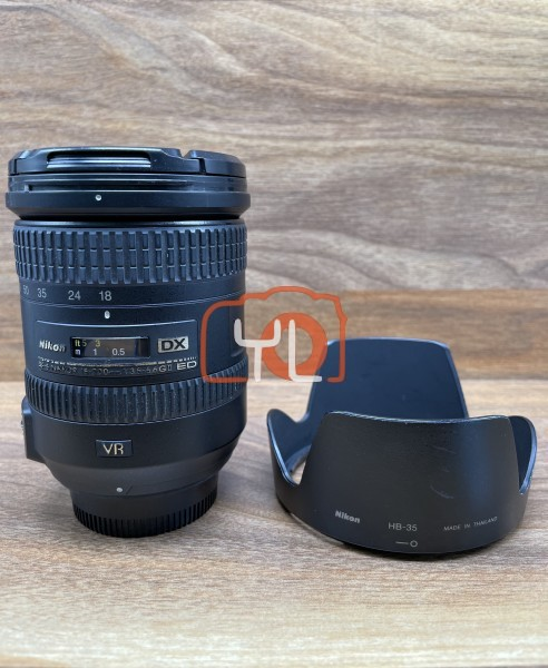 [USED @ YL LOW YAT]-Nikon AF-S DX NIKKOR 18-200mm F3.5-5.6G ED VR II Lens,85% Condition Like New,S/N:42276563