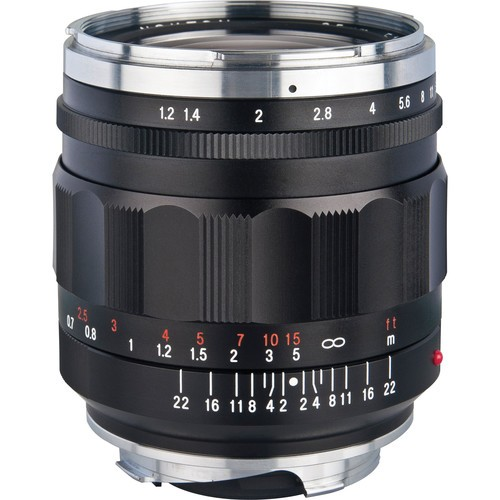 Voigtlander 35mm F1.2 Nokton Aspherical II Lens (For Leica M-Mount)