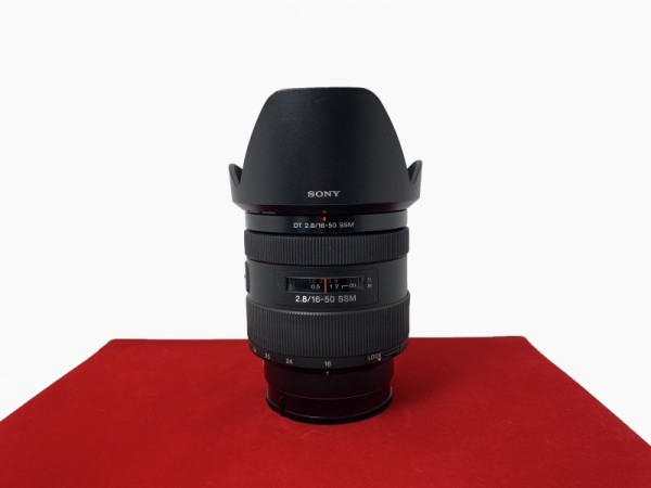 [USED-PJ33] Sony 16-50MM F2.8 SAL DT SSM, 90% Like New Condition (S/N:1836844)
