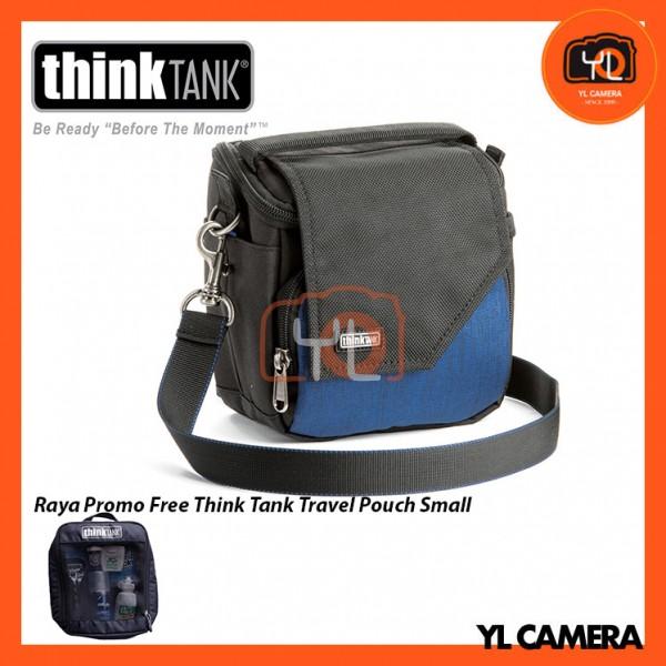 Think Tank Photo Mirrorless Mover 10 Camera Bag (Dark Blue) Free Think Tank Photo Travel Pouch - Small