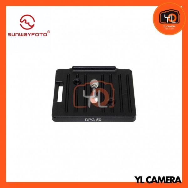 SunwayFoto DPG-50 Universal Quick-Release Plate