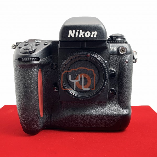 [USED-PJ33] Nikon F5 Film Camera, 85% Like New Condition (S/N:3132915)