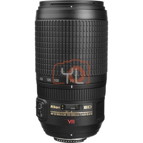 Nikon 70-300mm F4.5-5.6G AF-S VR ED