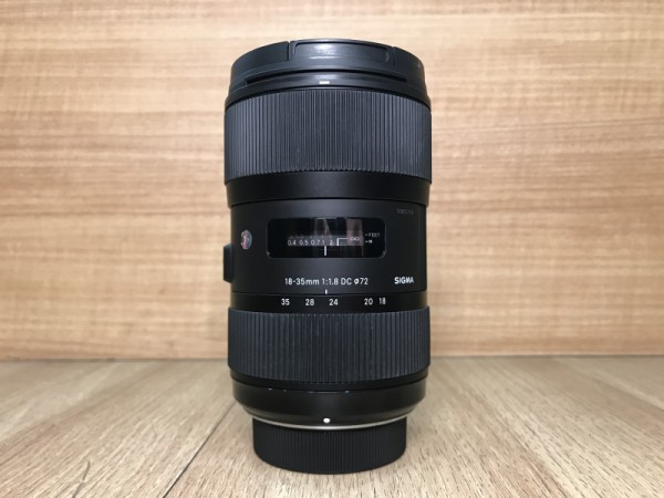 [USED @ YL LOW YAT]-Sigma 18-35mm F1.8 DC HSM Art Lens For Nikon,90% Condition Like New,S/N:50853769