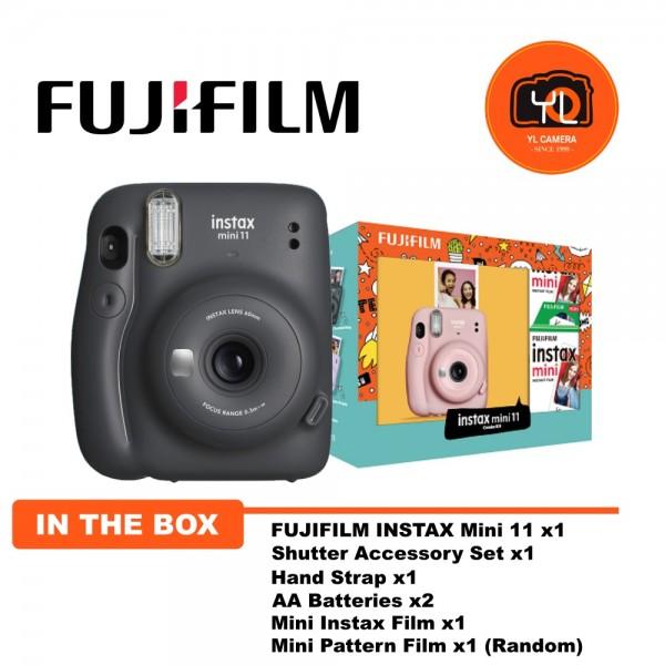 Fujifilm Instax Mini 11 Combo Kit - Charcoal Grey