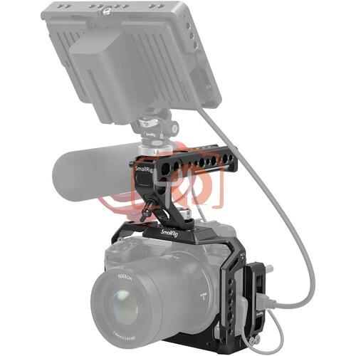 SmallRig Camera Cage with Monitor Mount & Top Handle Kit for Nikon Z7 II/Z7/Z6/Z6 II/Z5