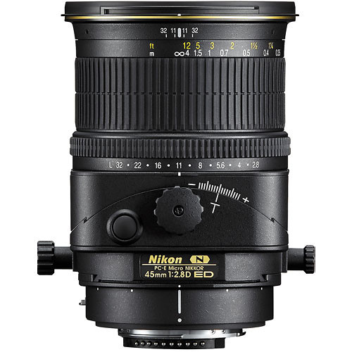 Nikon PC 45mm F2.8D ED Tilt-Shift