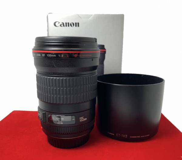 [USED-PJ33] Canon 135mm F2 L EF USM, 90% Like New Condition (S/N:240162)