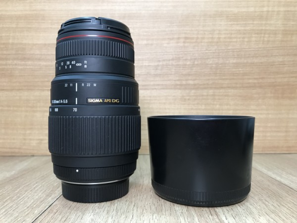 [USED @ YL LOW YAT]-Sigma APO 70-300mm F4-5.6 DG Macro Lens For Nikon,90% Condition Like New,S/N:11579078