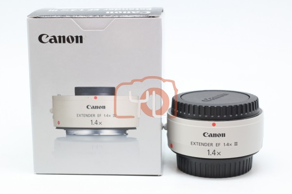 [USED-PUDU] Canon 1.4X III Extender EF Teleconverter, 98% Like New Condition SN:4090001009