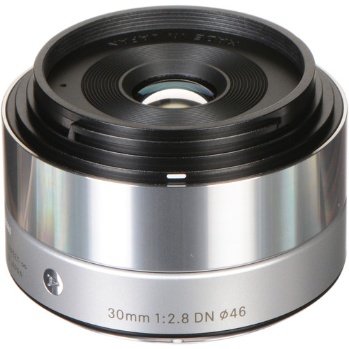 Sigma 30mm F2.8 DN Art Lens for Sony E-Mount (Silver)