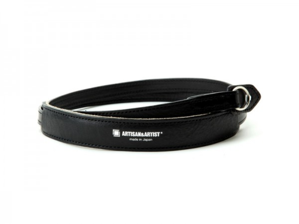 Artisan & Artist ACAM-255A Leather Camera Strap (Black)