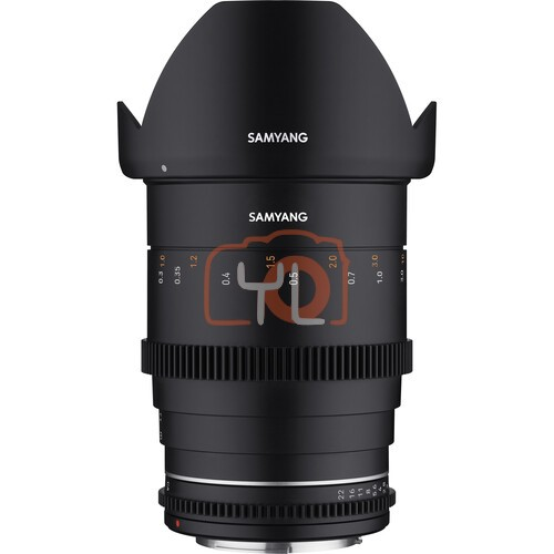 Samyang 35mm T1.5 MK2 Cine Lens (Canon EF)