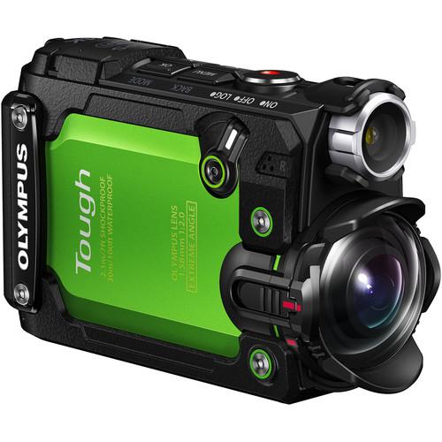 Olympus TG-Tracker Tough Action Camera (Green)