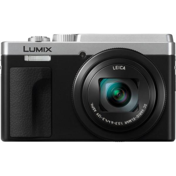 Panasonic Lumix DC-TZ95 Compact Camera - Silver [Free 16GB SD Card & Carrying Case]