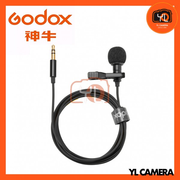 Godox LMS-12A AX Omnidirectional Lavalier Microphone with 3.5mm TRS Connector