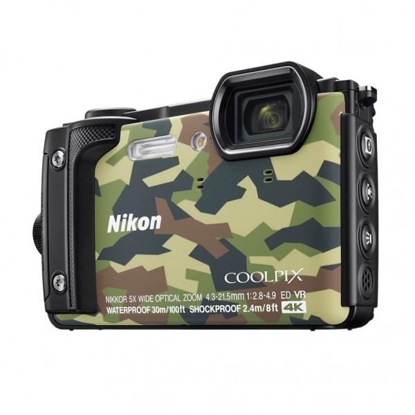Nikon COOLPIX W300 Waterproof Camera - Green