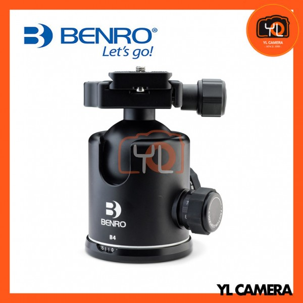 Benro B4 Triple Action Ball Head with PU70 Quick Release Plate