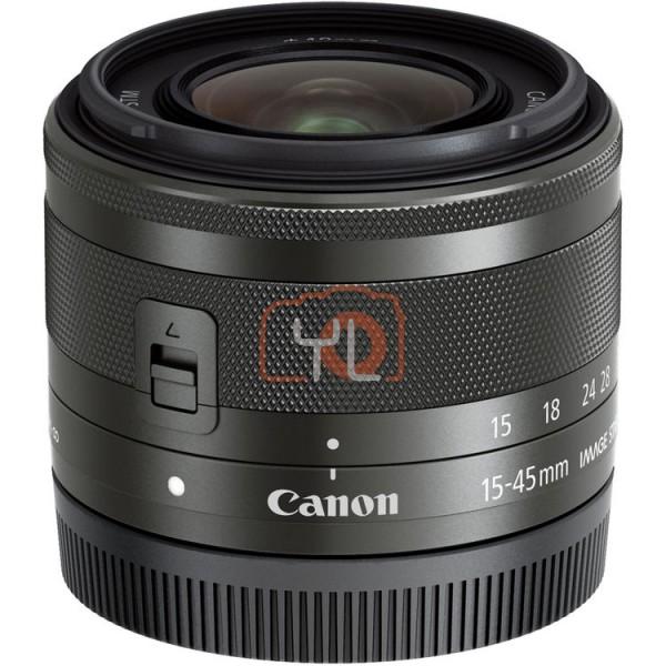 (NO BOX) Canon EF-M 15-45mm F3.5-6.3 IS STM (Graphite)