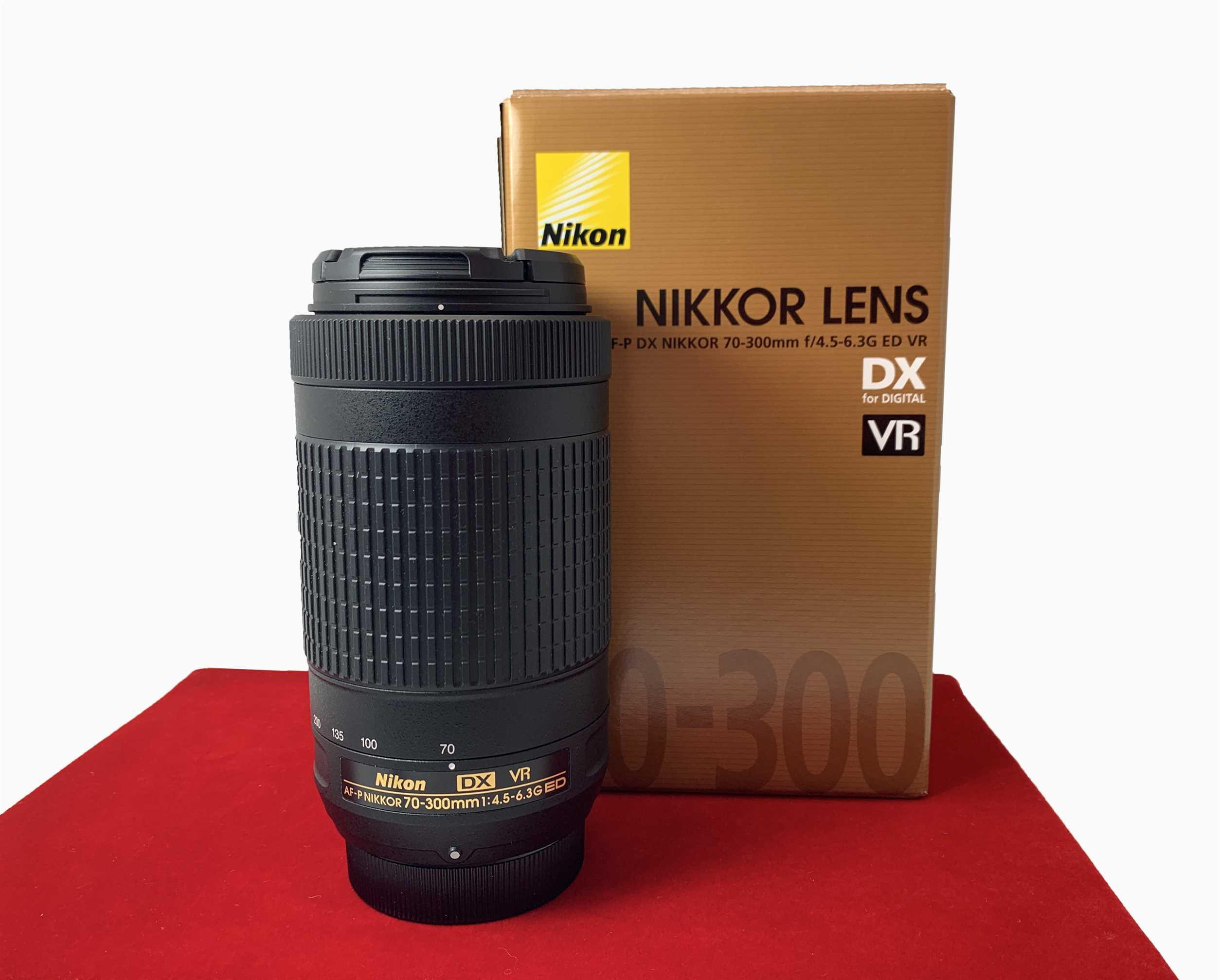 [USED-PJ33] Nikon 70-300mm F4.5-6.3G ED VR DX AF-P, 95% Like New Condition (S/N:20504486)