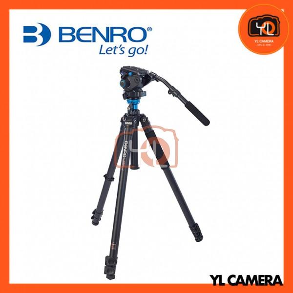 Benro A3573FS6 S6 Video Head and AL Flip Lock Legs Kit