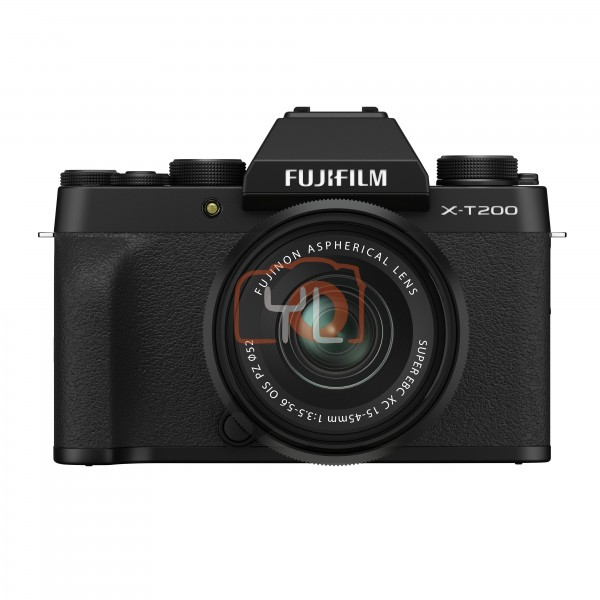 Fujifilm XT200 + XC 15-45mm f/3.5-5.6 OIS PZ (Black) [Free 32GB SD Card]