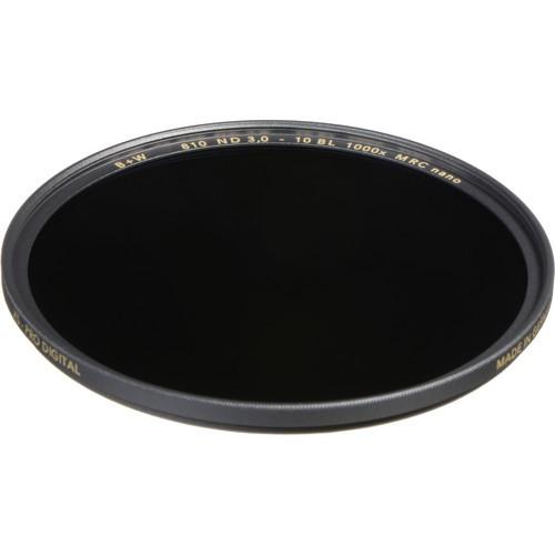 B+W 62mm XS-Pro MRC-Nano 810 ND 3.0 Filter (10-Stop)