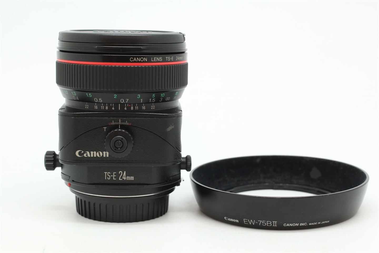 [USED-PUDU] CANON 24MM F3.5 L TS-E LENS 88%LIKE NEW CONDITION SN:35634
