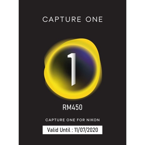 (Promotion) Capture One 20 Pro - For Nikon Cameras (Max. 2 Activates)