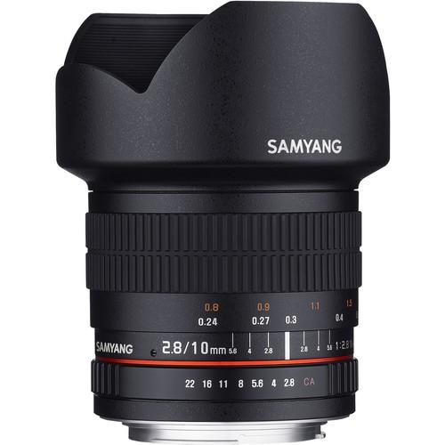 Samyang 10mm F2.8 ED AS NCS CS Lens for Canon M Mount