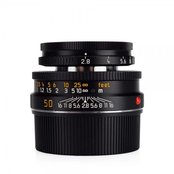 Leica 50mm F2.8 Elmar-M - Black (11831)