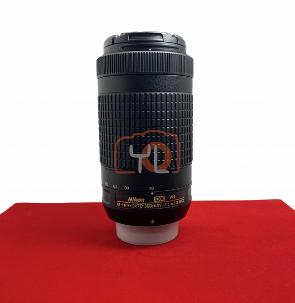 [USED-PJ33] Nikon 70-300mm F4.5-6.3G ED VR DX AFP, 95% Like New Condition (S/N:20260799)