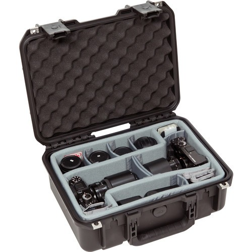 SKB iSeries 1510-6 Case with Think Tank Photo Dividers (Black)