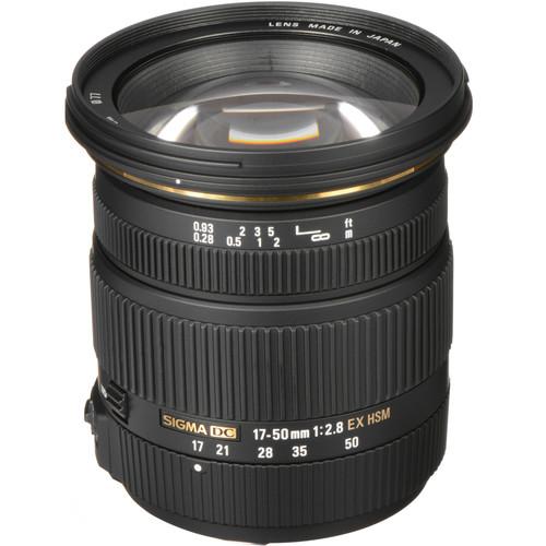 Sigma 17-50mm F2.8 EX DC OS HSM Lens (Sony)