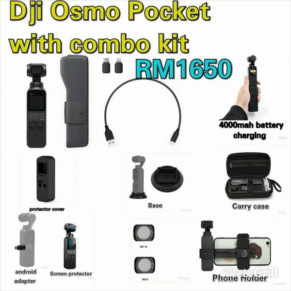 (Promotion) DJI Osmo Pocket COMBO Kit