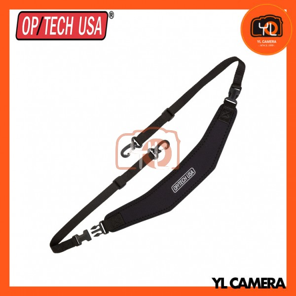 OP/TECH USA Utility Strap Swivel Hook (Black)